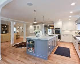 Open Kitchen With Island Galley Kitchen With Island Open Concept Design Penny