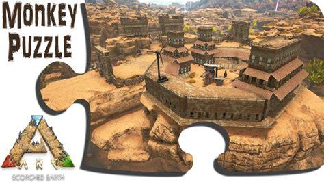 ark motorboat base scorched earth main base showcase ark advanced building