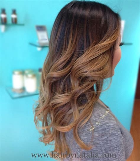 by natalia denver co vereinigte staaten balayage ombre hair color hair by natalia caramel sombre for brunettes denver