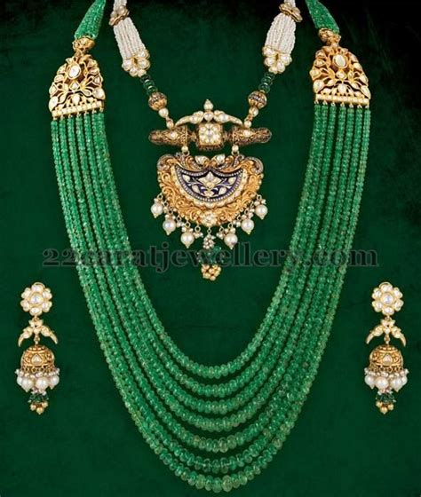 gold jewelry charges in india jewellery designs emerald set with jhumkas