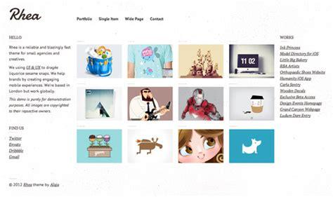 free tumblr themes for illustrators 21 top quality wordpress portfolio themes creative bloq