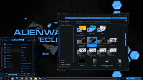 eclipse themes windows 8 alienware eclipse pure blue win 8 mr blade designs