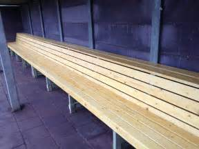 dugout bench plans building baseball dugout benches