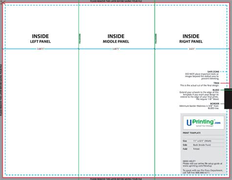 free brochure templates photoshop create and print a brochure with photoshop indesign and