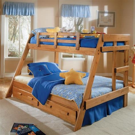 bunk bed plans twin  full bed plans diy blueprints