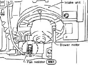 nissan pathfinder blower motor resistor location get free image about wiring diagram