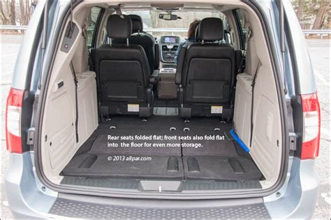 alamo 8 seater minivan minivan storage 2013 chrysler town country minivan car
