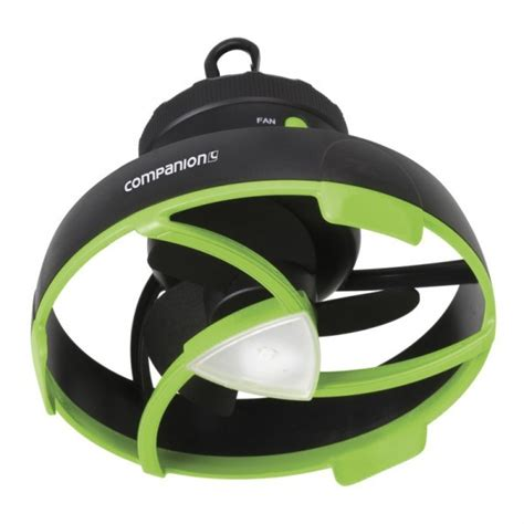 battery powered tent fan cing tent fan with led light 4xd battery powered