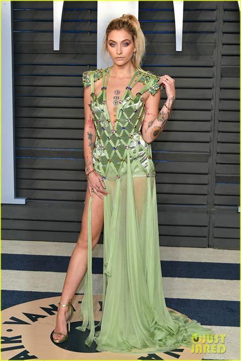 Green Vanity Fair by Jackson Is A Green Goddess At Vanity Fair Oscars