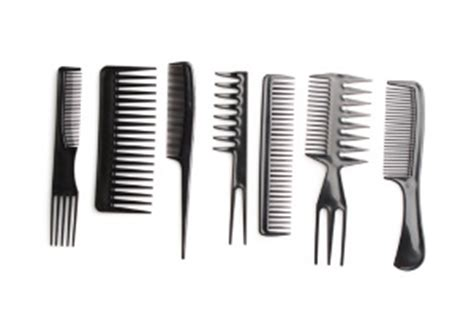 Types Of Hair Combs And Their Uses by City Furniture Hair Salon Equipment List