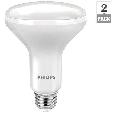 philips 65w equivalent soft white br30 led light bulb 2
