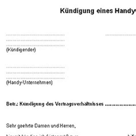 kuendigung handyvertrag deutsche anwaltshotline