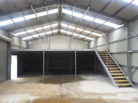 build  mezzanine floor   shed metal