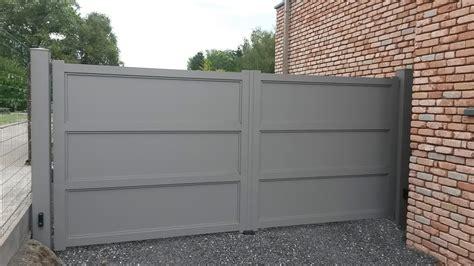 Tole Aluminium Sur Mesure 5374 by Flandres Portail Aluminium Europortail