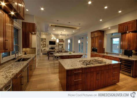 large kitchen ideas 15 big kitchen design ideas decoration for house