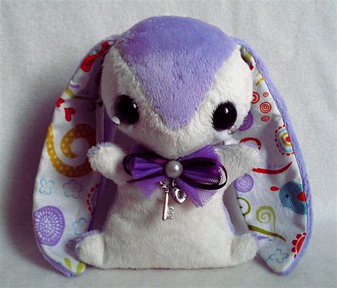 Handmade Plushies - ella handmade teacup bunny plush for sale by tiny tea