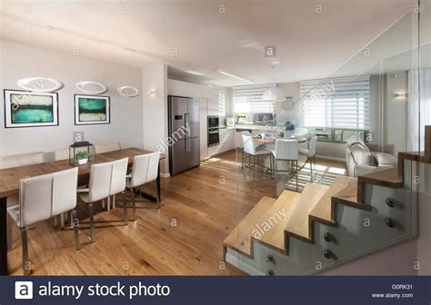 open plan house modern house modern open plan living room and dining area