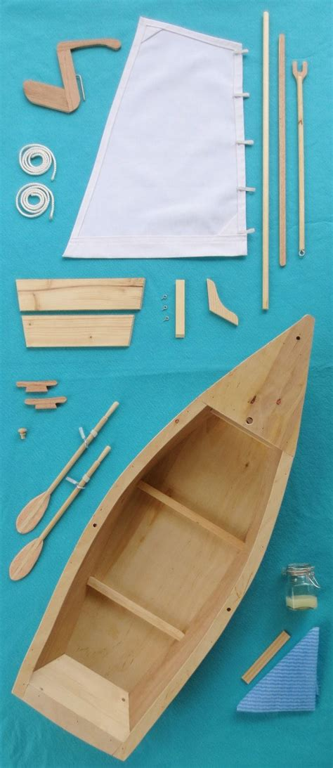 sailboat model kit wood skiff sailboat model kit for american girl 18 inch