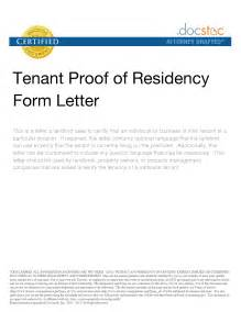 proof of residency form sle install from terminal mac