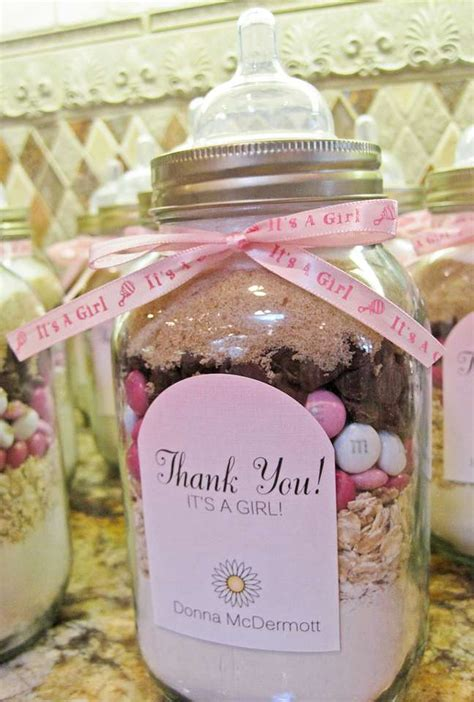 baby shower favor gift ideas shades of pink gray baby shower ideas photo 47