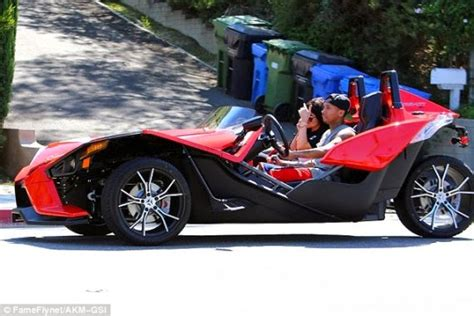 Tyga Criminal Record What Breakup Up Tyga Takes Jenner For A Spin In His 3 Wheel Motorcycle