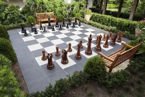 outdoor chess  ideas  inspirations