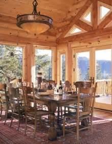 Log Cabin Dining Room Furniture Log Cabin Dining Room Log Cabin