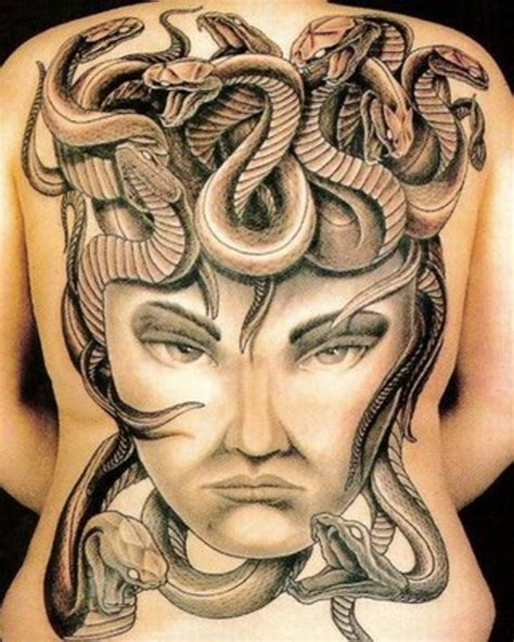 medusa tattoo design snake tattoos top 20 snake designs