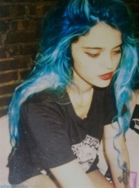 beautiful blue color beautiful blue blue hair color image 770501 on favim com