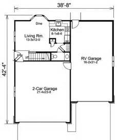 Rv Storage Plans by Apartment Garage Plus Rv Storage 57157ha 2nd Floor