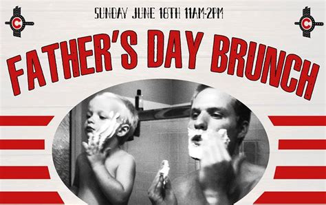 fathers day brunch 2018 食物 寶貝 和一個偉大的事業 國會大廈劇院的父親節早午餐