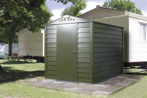 titan 600 garden shed range metal sheds from trimetals