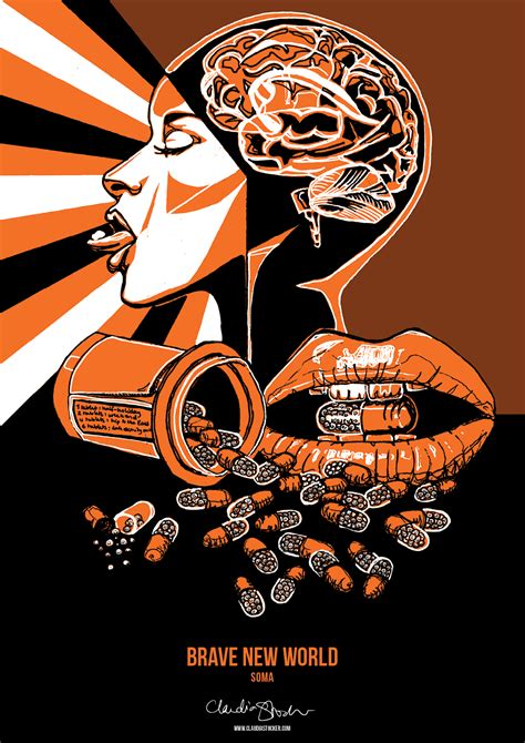 theme of drugs in brave new world brave new world book cover poster www pixshark com