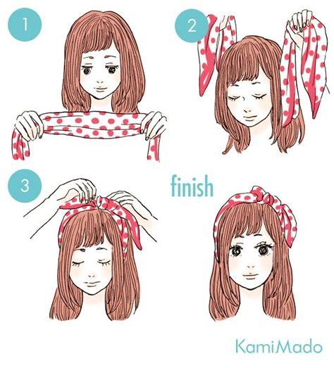 diy anime hairstyles 25 best bandana hair tutorials ideas on pinterest