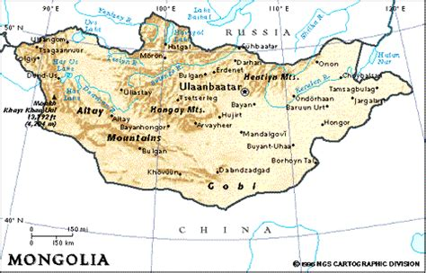 themes of geography mongolia mongolei fluss karte
