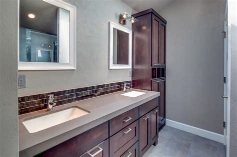 grey brown bathroom photos hgtv