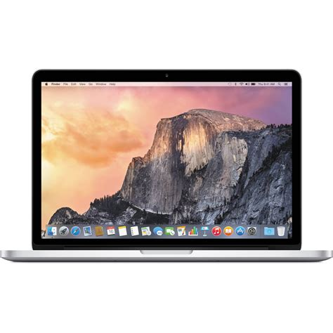 apple 13 3 quot macbook pro laptop computer with retina b h