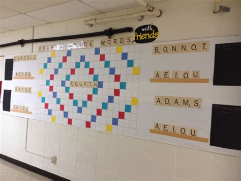 scrabble words with friends board 135 best images about bulletin boards on