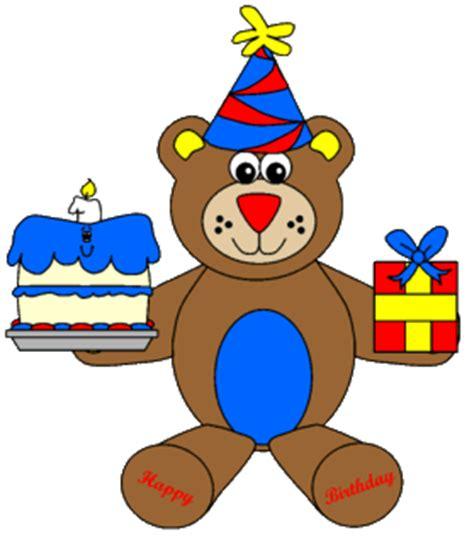 printable birthday cards dltk birthday bear paper craft