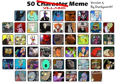 Villain Meme - 50 villains meme part 5 by duckyworth on deviantart