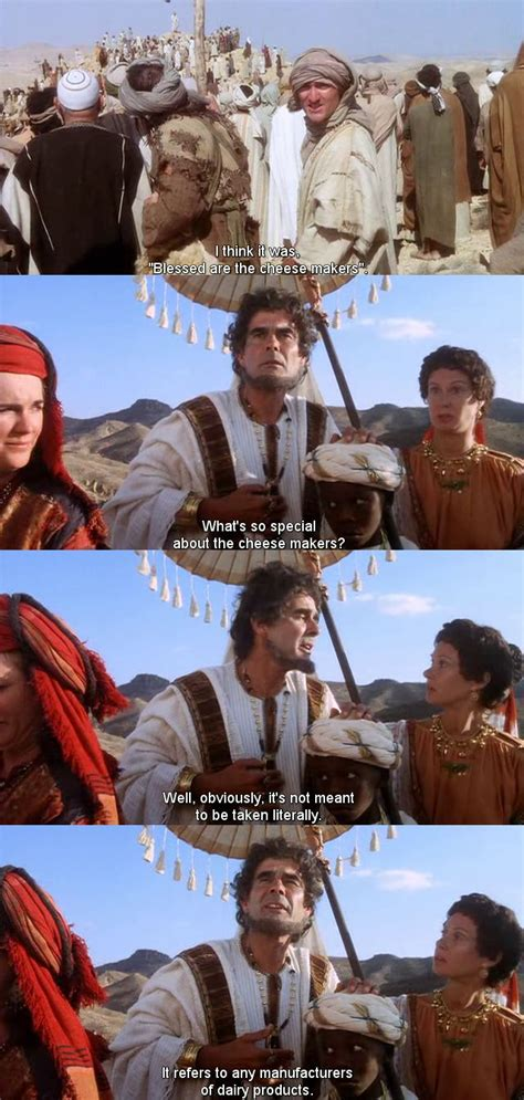 Life Of Brian Meme - blessed are the cheese makers life of brian movies and