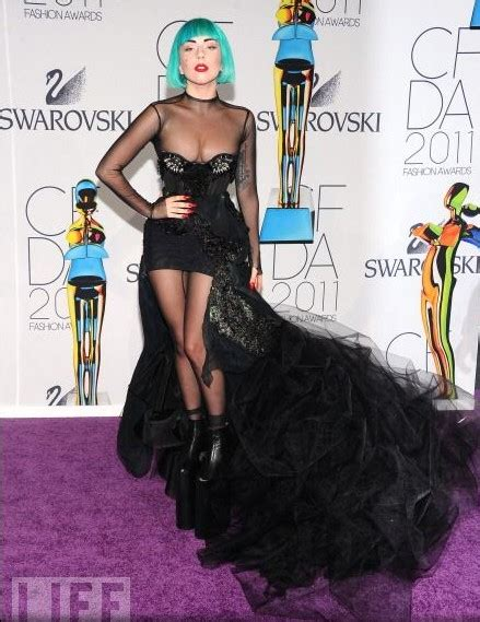 Gaga Wardrobe by Gaga Wardrobe At 2011 Cfda