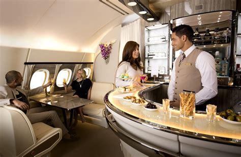 emirates qantas club emirates enhances a380 onboard lounge showcasing at the