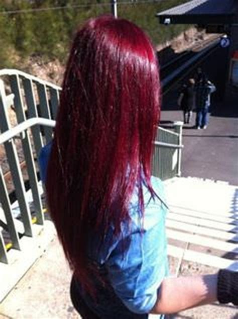 how to put red hair in on the dide with 27 pieceyoutube 49 of the most striking dark red hair color ideas