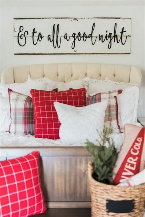 schlafzimmer ideen zum nachmachen romantisch weihnachtsdeko landhausstil macht weihnachten unglaublich