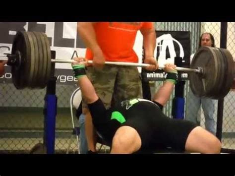cain velasquez bench press tank abbott 600 pound bench press