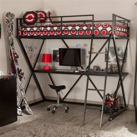 black loft bed with desk bedroom the best choices of loft beds with desks for