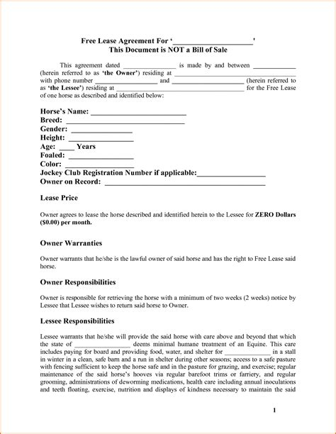 authorization letter lease agreement 7 rental agreement authorizationletters org