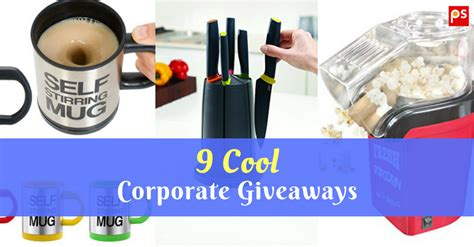 Cool Corporate Giveaways - 9 cool corporate giveaways corporate gift ideas by plattershare plattershare