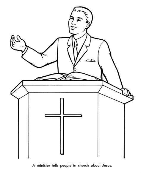 coloring pages church preschool pastor on the church coloring pages free new coloring